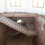 Обследование монолитной лестницы